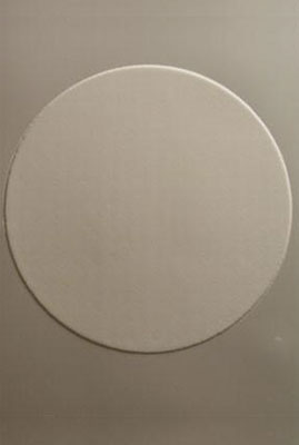 19cm/7.5 inch icing circle 1 on a page
