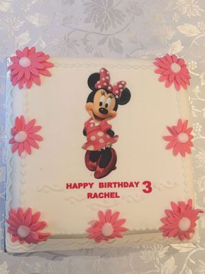 Personal Micky mouse birthday cake