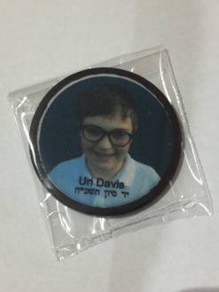 photo on edible icing disc on a chocolate disk