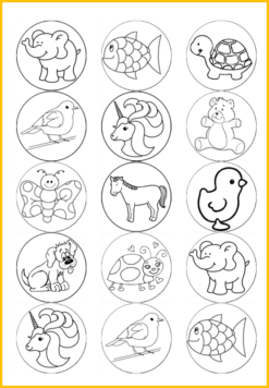 colour in animals edible