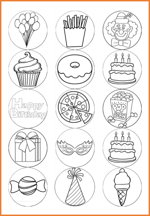 colour in party pictures