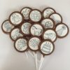 15 chocolate lolly pops